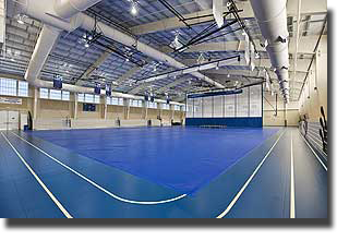 Gibson Wadsworth Athletic Center, construction management