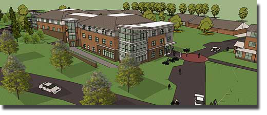 Hinman Residence Hall, Thomas College, Waterville, Maine, Construction Consultants